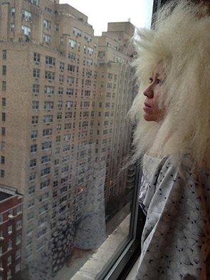 Yasuko Yokoshi, photo by Peggy Jarrell Kaplan
