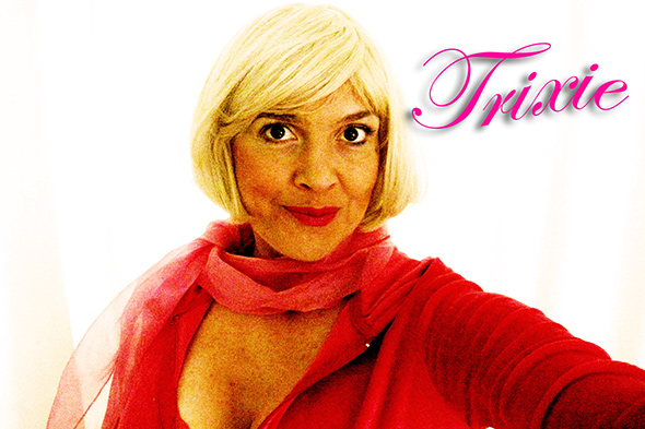 Mrs. Trixie Cane, Selfie #4. Photo courtesy of T.L. Cowan