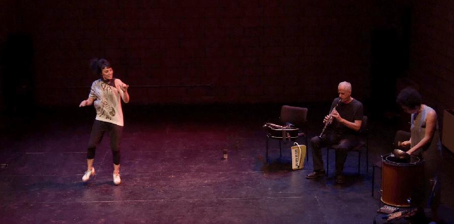 Roxane Butterfly, David Garland, Anaïs MavielThree Genres of Improvisation, video still by Video still by Jacob Hiss
