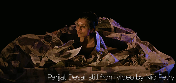 Parijat Desai, still from video by Nic Petry